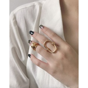 KAIA Gold Pinky Ring