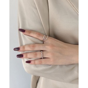 KAREN Sterling Silver Ring