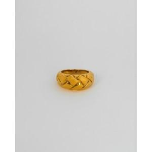 KARINA Gold Dome Ring