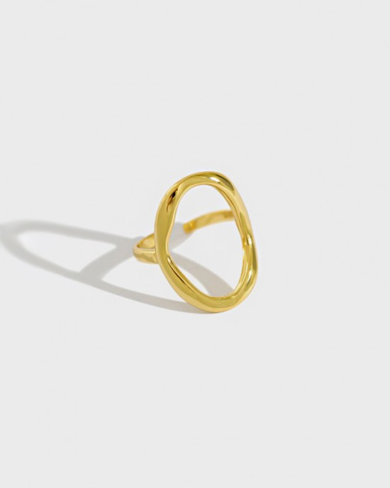 KYLIE Gold Vermeil Ring