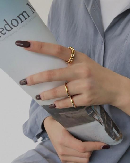 LEAH Gold Vermeil Ring