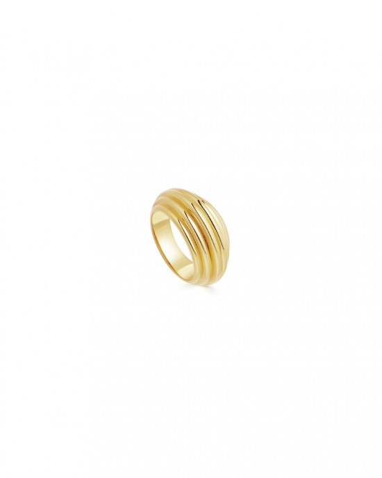 LOUANA Gold Dome Ring