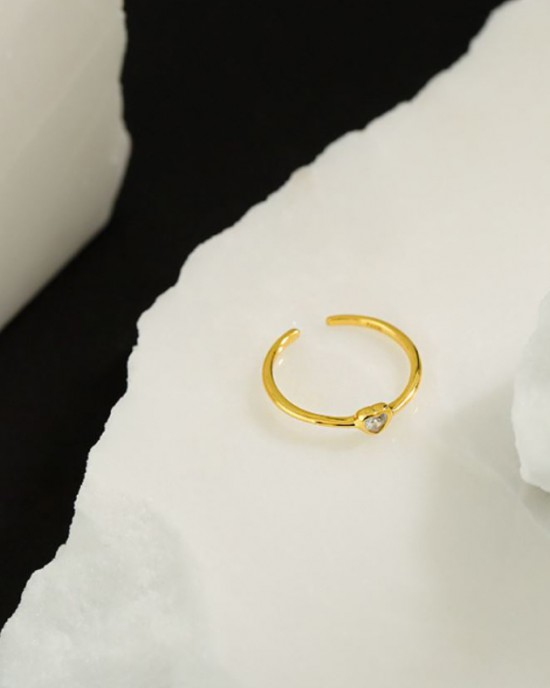 MILENA Gold Vermeil Ring