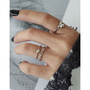 MILENA Sterling Silver Ring