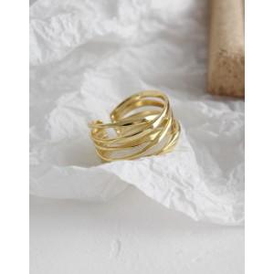 NATHALIE Gold Vermeil Ring