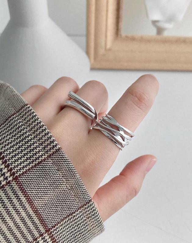 NATHALIE Sterling Silver Ring