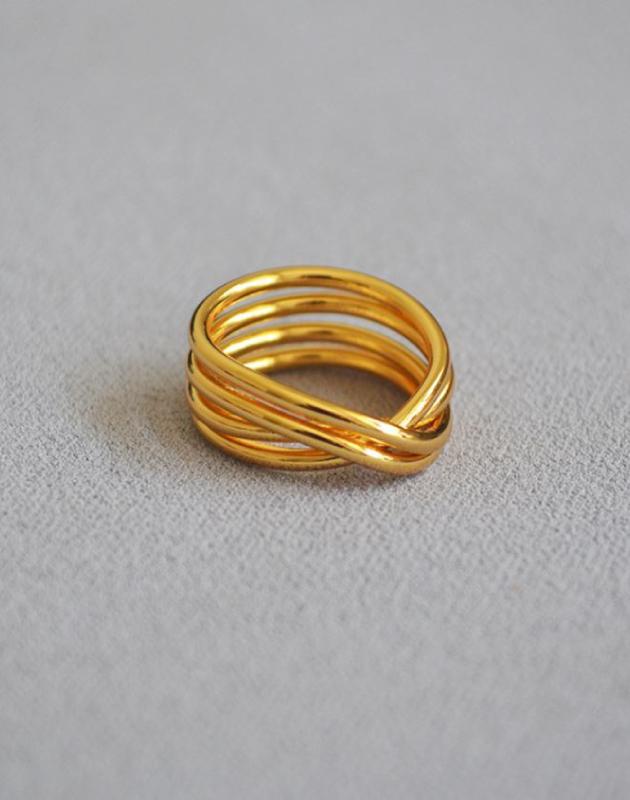 NOELLE Gold Ring