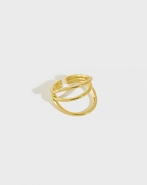 NORA Gold Vermeil Ring