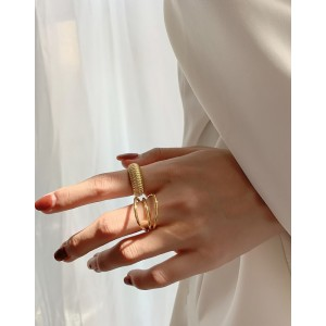 MARINA Gold Vermeil Ring