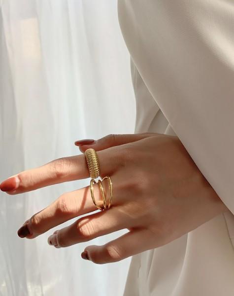 MARINA Gold Vermeil Ring