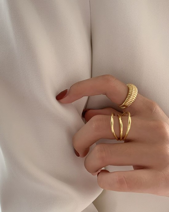 NORA Gold Vermeil Ring