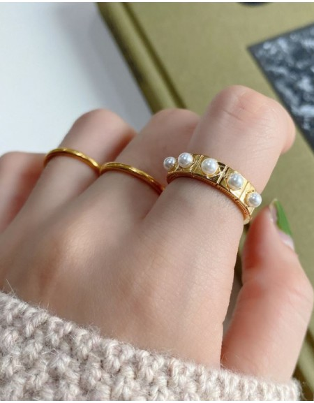 PERLA Pearl Ring