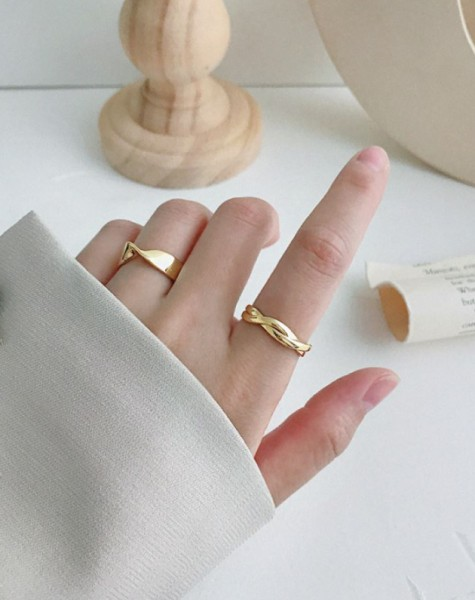 PIPER Gold Vermeil Ring