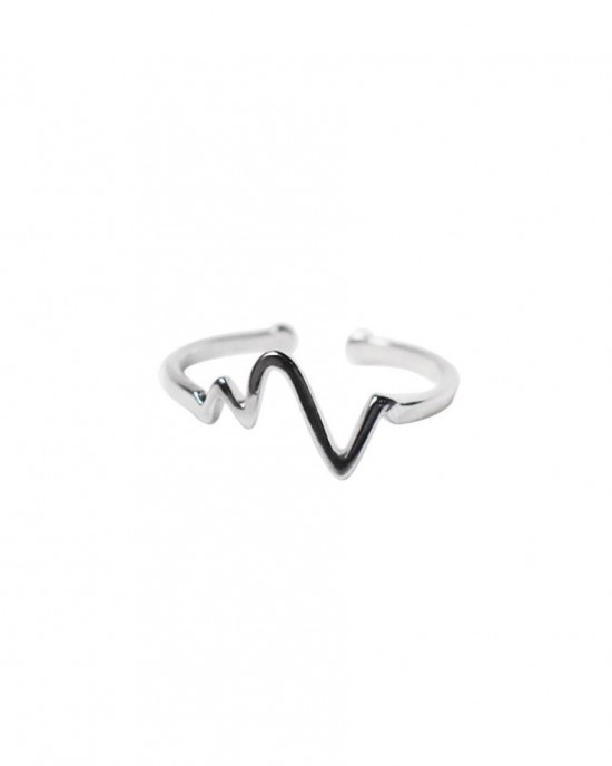 PULSE Sterling Silver Ring