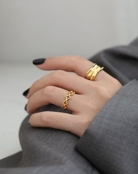 SADIE Gold Vermeil Ring