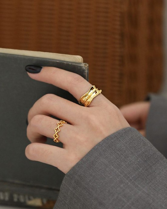 SADIE Gold Vermeil Ring