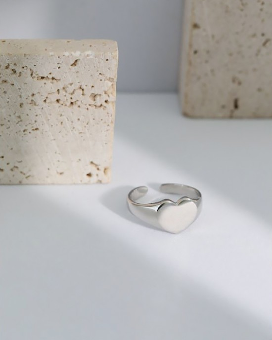 SADIE Sterling Silver Signet Ring