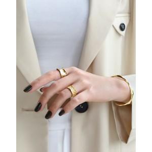 SAGE Gold Vermeil Ring