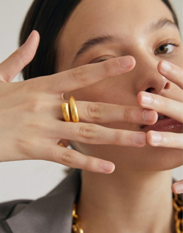 SHANNON Gold Ring