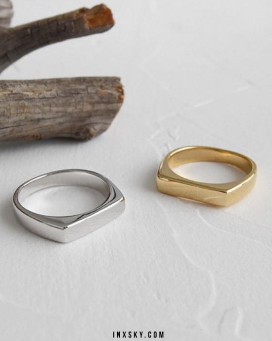 SIA Silver Ring