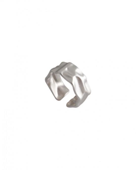 SKYLAR Matte Sterling Silver Ring