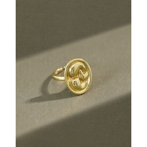 VALENTINA Gold Vermeil Ring