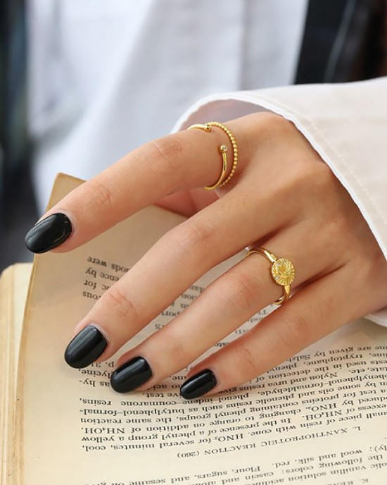 VENUS Gold Vermeil Ring