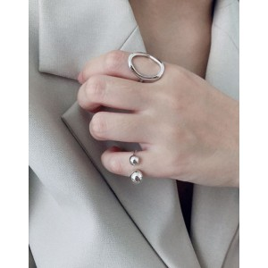 YURI Sterling Silver Pinky Ring