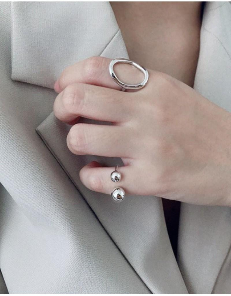 YURI Sterling Silver Pinky Ring